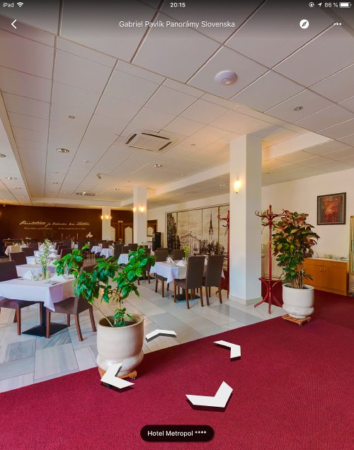 Reštaurácia hotela Metropol